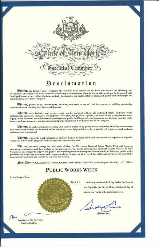 2018 NYS Governor Proclamationfor Public Works Week.jpg