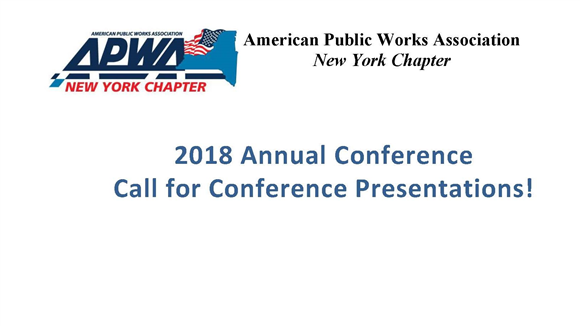 2018 NYS APWA Annual Conference