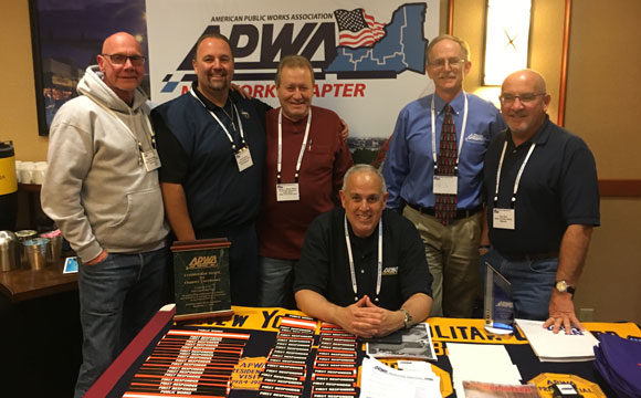 Harry Weed, former Region 2 Director, Traffic Incident Management System (TIMS) Presenter, Dominick Longobardi & Kris Dimmick, Delegates, and the rest of the Long Island Branch